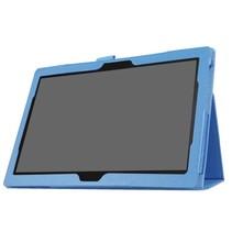 Lenovo Tab 4 10 - flip hoes licht blauw
