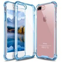 iPhone 7 Plus / iPhone 8 Plus Shock Absorption TPU Cover - Blauw