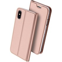 Dux Ducis Skin Pro Series case - iPhone X - Roze/Goud