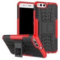 Xiaomi Mi 6 Schokbestendige Back Cover Rood