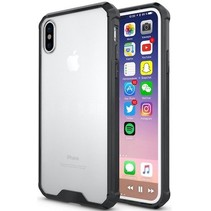 Hybrid Armor Case - iPhone X - Zwart