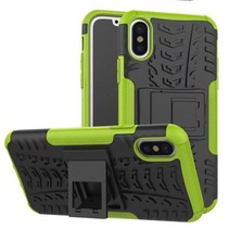 iPhone X Schokbestendige Back Cover Groen