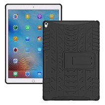 iPad 9.7 - Schokbestendige Back Cover - Zwart
