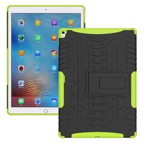iPad 9.7 - Schokbestendige Back Cover - Groen