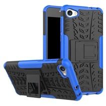 Alcatel A5 LED Schokbestendige Back Cover Blauw