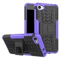 Alcatel A5 LED Schokbestendige Back Cover Paars