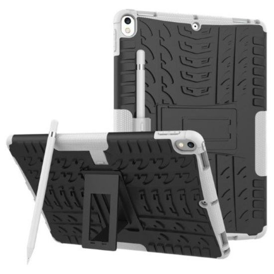 Case2go iPad Pro 10.5 2017 Schokbestendige Back Cover Wit