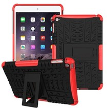 iPad Mini 4 Schokbestendige Back Cover Rood