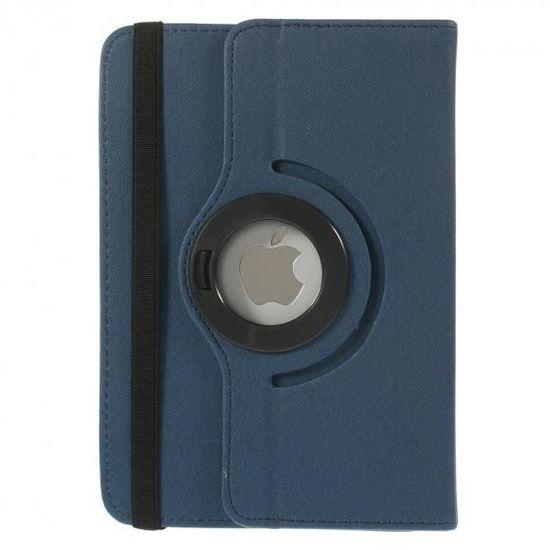 Case2go 7 inch tablet hoes 360 graden draaibaar donker blauw - universeel