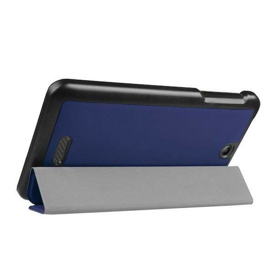 Case2go Acer Iconia One 7 B1-780 Tri-Fold Book Case Donker blauw