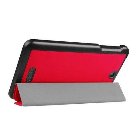 Case2go Acer Iconia One 7 B1-780 Tri-Fold Book Case Magenta