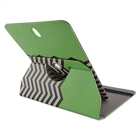 Case2go 360 graden draaibare 8 inch tablet hoes - Groen