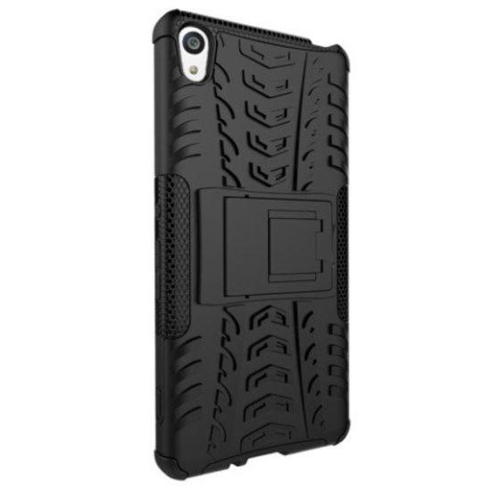Case2go Schokbestendige Back Cover voor Sony Xperia XA - Zwart