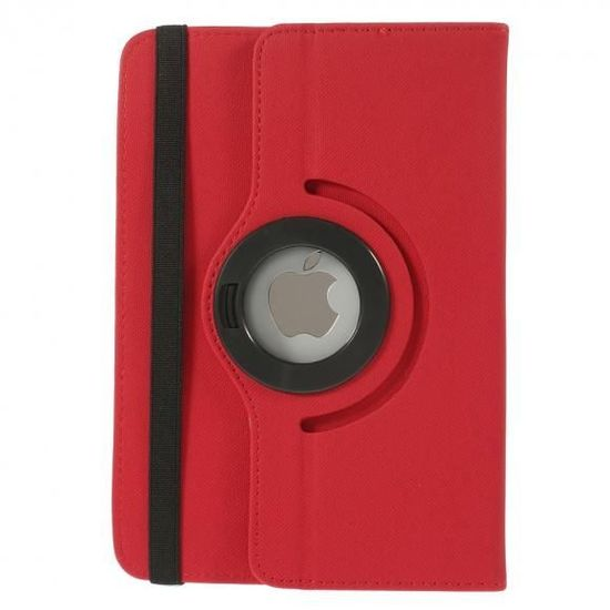 Case2go 7 inch tablet hoes 360 graden draaibaar rood - universeel