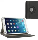 Case2go 7 inch tablet hoes 360 graden draaibaar zwart - universeel