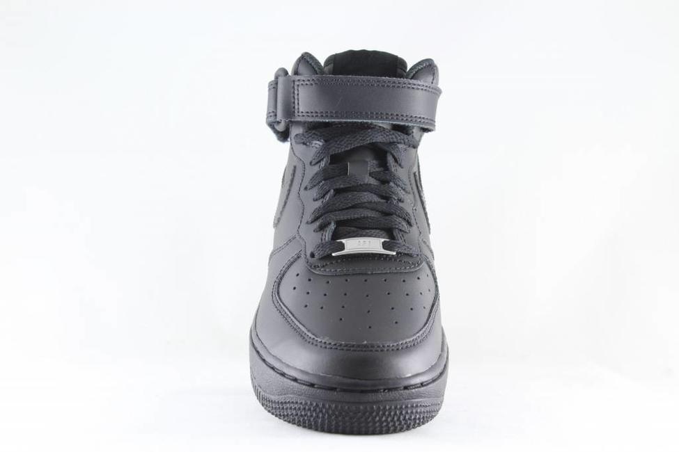 J NIKE AIR FORCE 1 MID (GS) Black/ Black