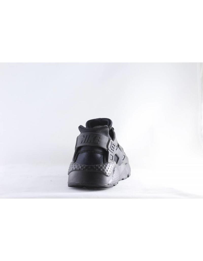 NIKE HUARACHE RUN (GS) Black/ Black- Black