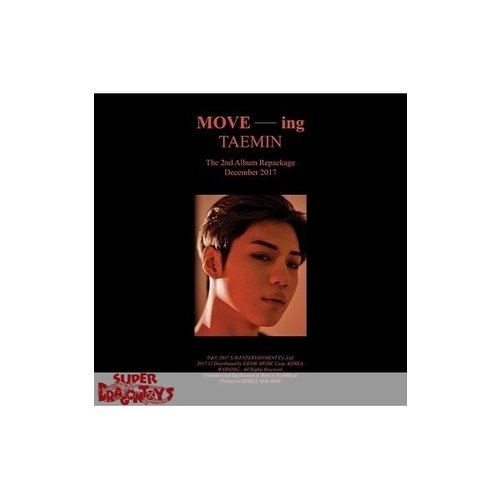 TAEMIN - MOVE-ING - 2ND REPACKAGE ALBUM