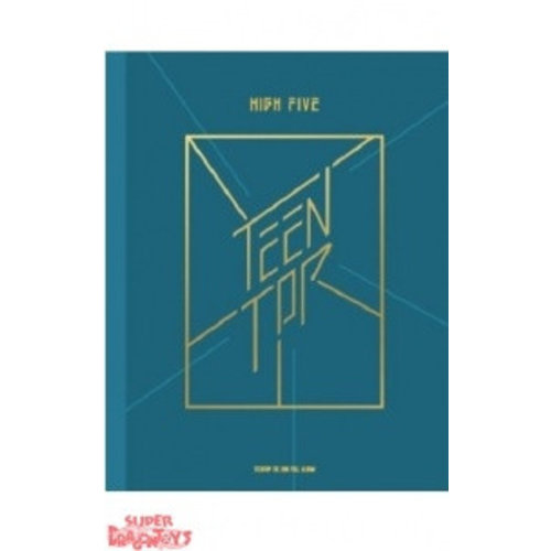 "TEEN TOP - HIGH FIVE - 2ND ALBUM - ""ONSTAGE"" VERSION"