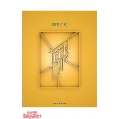 "TEEN TOP - HIGH FIVE - 2ND ALBUM - ""OFFSTAGE"" VERSION"