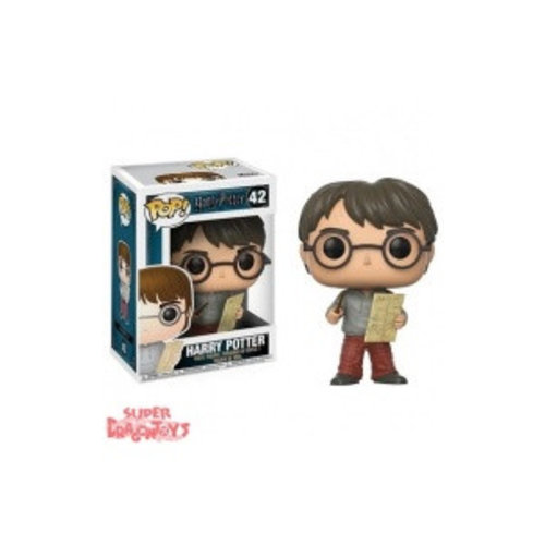FUNKO  HARRY POTTER - HARRY WITH MAP - FUNKO POP
