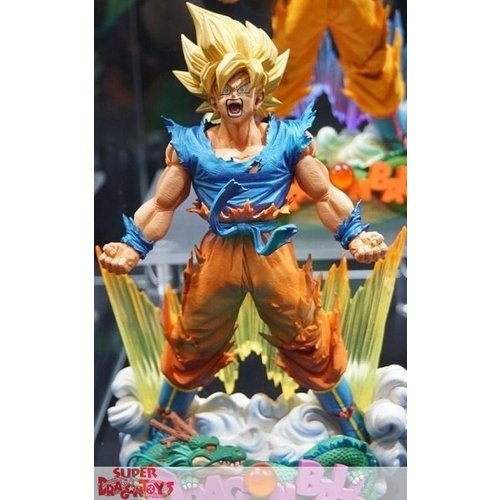 "BANPRESTO  DRAGON BALL Z - SON GOKU ""THE BRUSH"" - SUPER MASTER STARS DIORAMA"