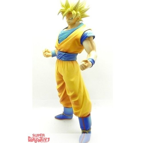 BANPRESTO  DRAGON BALL Z - SUPER SAIYAN SON GOKOU - MASTER STARS PIECE KING OF COLORING