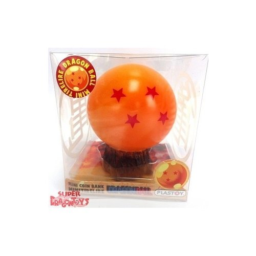 PLASTOY DRAGON BALL - CRYSTAL BALL NO. 4 - MINI COIN BANK