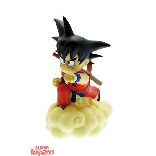 PLASTOY DRAGON BALL - SON GOKU & KINTO-UN (NUAGE MAGIQUE) - TIRELIRE FIGURE