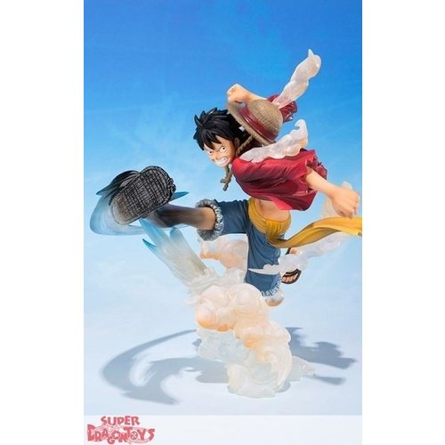 "BANDAI ONE PIECE - LUFFY BATTLE VERSION ""GUM GUM NO HAWK WHIP"" - FIGUARTS ZERO"