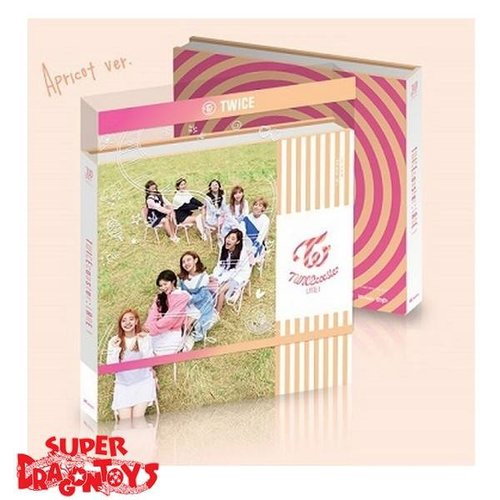 TWICE - TWICECOASTER LANE 1 - 3RD MINI ALBUM - VERSION APRICOT