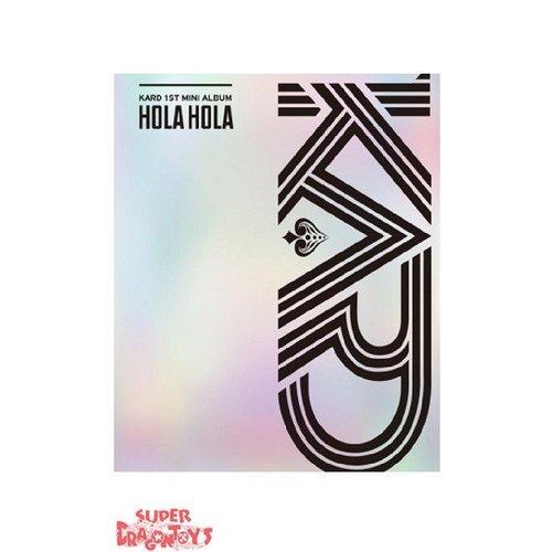 KARD - HOLA HOLA - 1ST MINI ALBUM