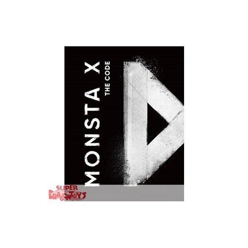 """MONSTA X - THE CODE - """"PROTOCOL TERMINAL"""" VERSION - 5TH MINI ALBUM"""