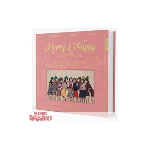 "TWICE - MERRY & HAPPY - ""HAPPY"" VERSION - 1ST REPACKAGE ALBUM"