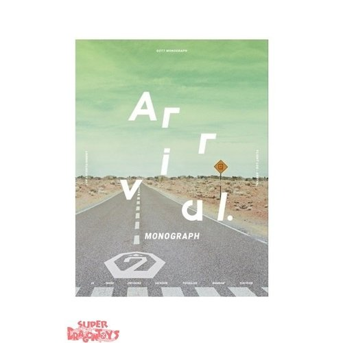 GOT7 - MONOGRAPH FLIGHT LOG : ARRIVAL - [PHOTOBOOK + DVD] - LIMITED EDITION