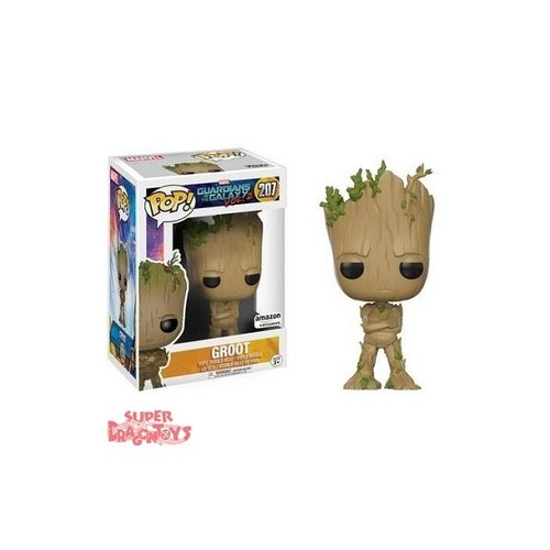 FUNKO  GUARDIANS OF THE GALAXY VOL 2 - GROOT - FUNKO POP LIMITED EDITION