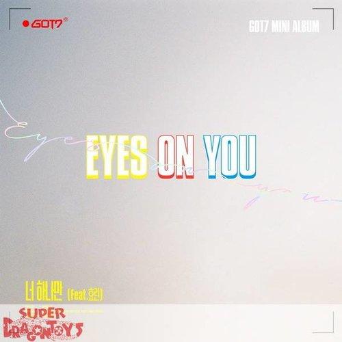 """GOT7 - EYES ON YOU - """"EYES"""" VERSION - MINI ALBUM"""
