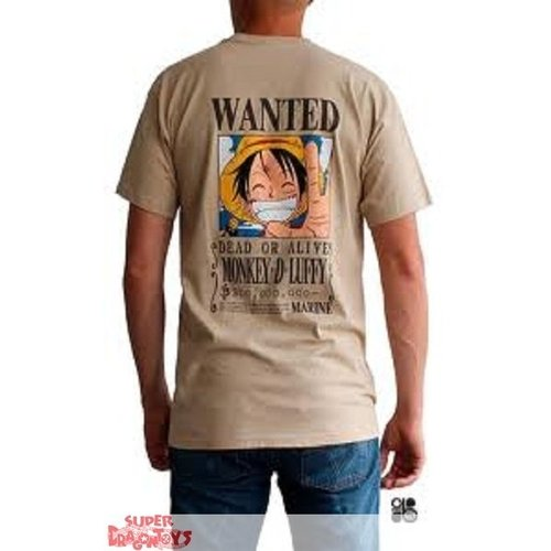 ABYSSE CORP. ONE PIECE - T SHIRT - WANTED LUFFY