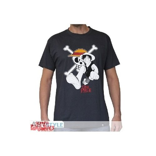 "ABYSSE CORP. ONE PIECE - T-SHIRT ""LUFFY & EMBLEM"""