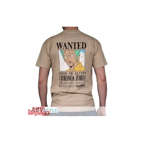"""ABYSSE CORP. ONE PIECE - T-SHIRT """"WANTED ZORO"""""""
