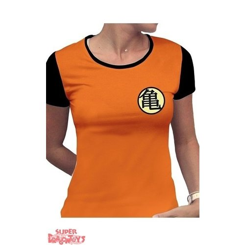"ABYSSE CORP. DRAGON BALL - T-SHIRT ""KAME"" SYMBOL - MODELE FEMME"