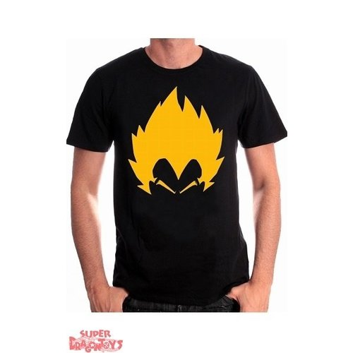 "DRAGON BALL - T-SHIRT ""SAYAN VEGETA"""