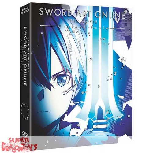 @ANIME SWORD ART ONLINE - THE MOVIE : ORDINAL SCALE - EDITION COLLECTOR - COMBO DVD + BLU RAY