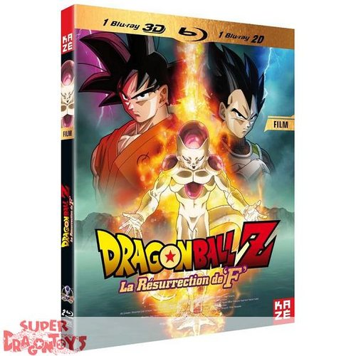 KAZE VIDEO DRAGON BALL Z - FILM : LA RESURRECTION DE F - BLU RAY [3D + 2D]