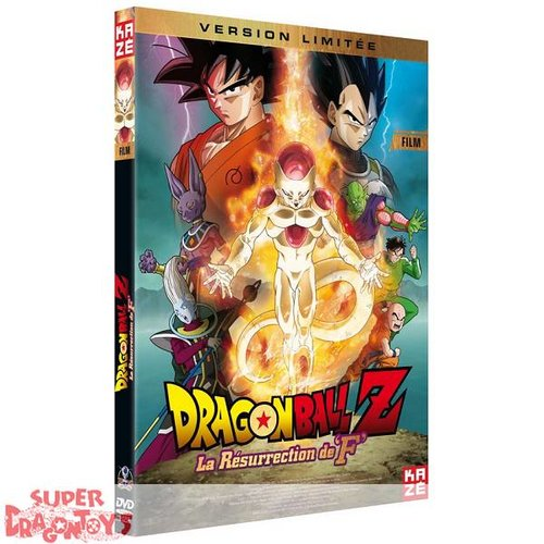 KAZE VIDEO DRAGON BALL Z - FILM : LA RESURRECTION DE F - VERSION LIMITEE - DVD