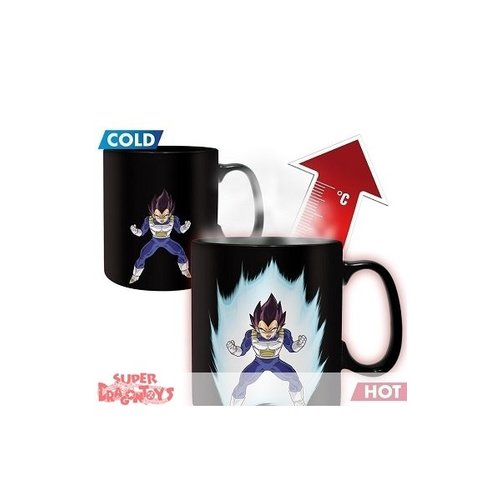 "ABYSSE CORP. DRAGON BALL Z - MUG MAGIQUE THERMO REACTIF ""VEGETA"""