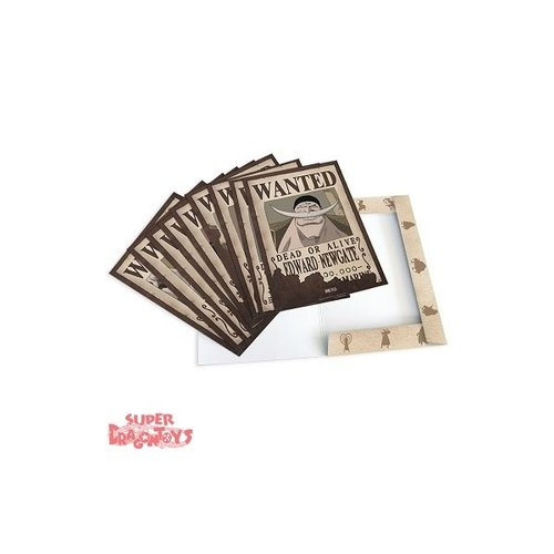 "ONE PIECE - PORTFOLIO AFFICHES ""WANTED"" - PACK 2"