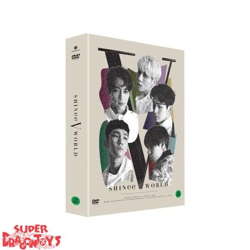 "SHINEE - ""SHINEE WORLD V IN SEOUL"" LIVE CONCERT - [2DVD] BOX"