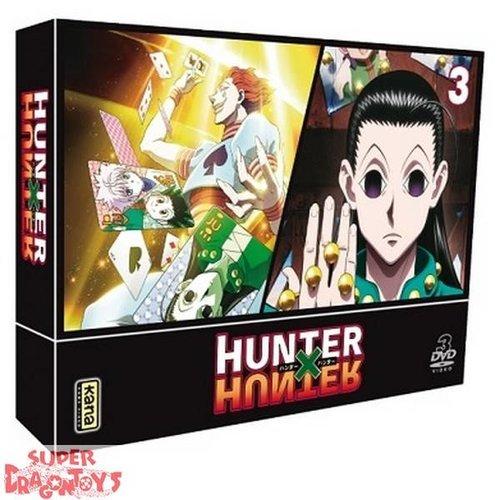 KANA HOME VIDEO HUNTER X HUNTER (2011) BOX 03