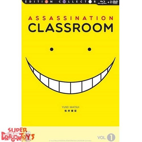 KANA HOME VIDEO ASSASSINATION CLASSROOM - COFFRET 1 - EDITION COLLECTOR COMBO DVD + BLU RAY